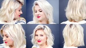 best curling wands for short hair 6 curls waves for short hair with curling wand milabu youtube