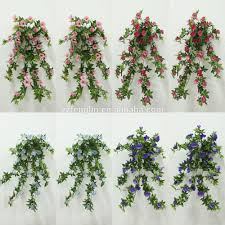 wall hanging artificial fabric flower vine decoration artificial