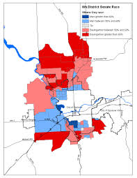 Primary Map Marr Wins City Baumgartner Wins County The Spokesman Review