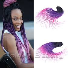 ombre senegalese twists braiding hair new arrival18 inch long colored ombre crochet hair extensions