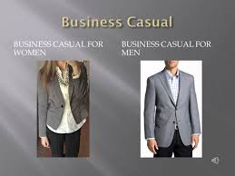 what to wear at a business presentation