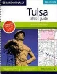 Tulsa Zip Code Map Tulsa Oklahoma Street Guide By Rand Mcnally
