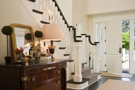 Black Banister Non Slip Stair Treads Staircase Southwestern With Chrome Railings