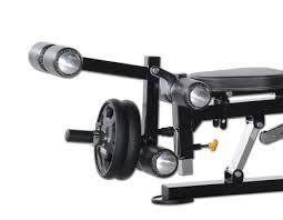 Leg Lift Bench Olympic Bench Press Package Powertec