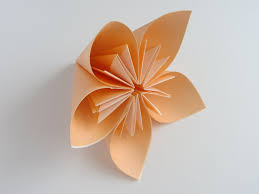 the art of paper folding how to make an origami flower kusudam