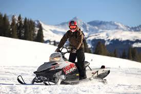 snowmobile safari to a reindeer farm and the santa claus village