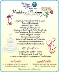 Wedding Packages Travel Tacloban U0026 Leyte Tips Guides U0026 Information Travelling