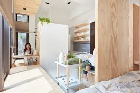 amenagement cuisine ferm馥 an incredibly compact house 40 square meters that uses