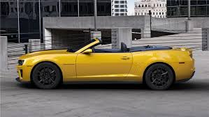 yellow camaro zl1 2013 chevrolet camaro zl1 convertible 139306