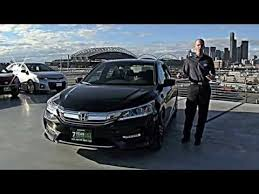 2016 honda accord sport review in 3 minutes you u0027ll be an expert