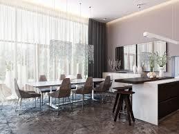 kitchen and dining interior design modern neutral dining room kitchen 2 interior design ideas norma
