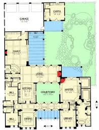 Mediterranean House Plans With Courtyard Open Living House Plans Mediterranean Homes Zone