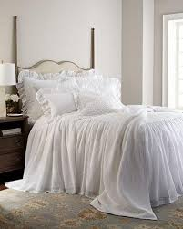 White Matelasse Coverlet Twin Luxury Quilts U0026 Coverlets At Neiman Marcus