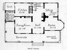 small queen anne victorian house plans