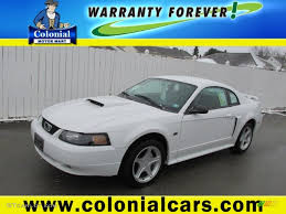 2001 oxford white ford mustang gt coupe 78997021 gtcarlot com