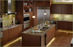 Led Lights For Kitchen Cabinets by Under Cabinet Lighting Led The Ikea Omlopp Lamp Is Integrated