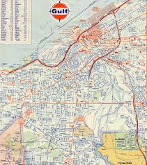 Ohio City Map Interstate Guide Interstate 71