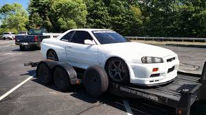 nissan skyline us import r34 gtr i spotted in new hampshire autos