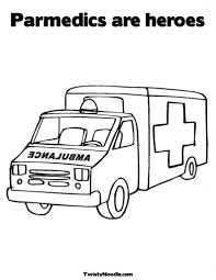 paramedic coloring pages aecost net aecost net