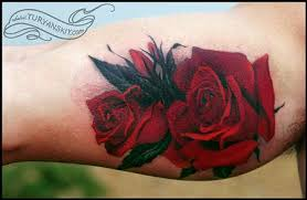 roses tattoos colors and tattoos