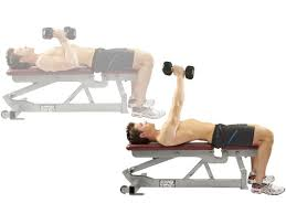 How To Do Dumbbell Bench Press The 15 Minute V Shape Workout Men U0027s Health