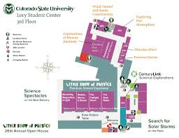Colorado State Campus Map by Open House U2010 Little Shop Of Physics Colorado State University