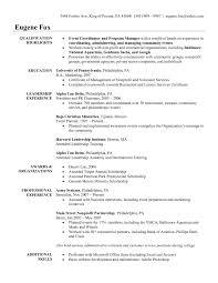 Sample Resume For Marketing Coordinator Cover Letter Sales And Marketing Coordinator