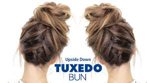 images of braids with french roll hairstyle tuxedo braid bun hairstyle french braid hairstyles youtube