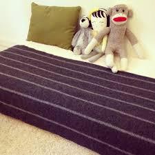 my baby and her montessori floor bed