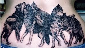 wolf tattoos wolf family katys ideas