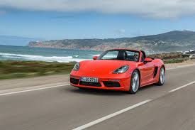 orange porsche convertible 2017 porsche 718 boxster review gtspirit