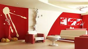 living room beautiful modern red living room abstract wall mural