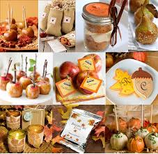 fall wedding favor ideas autumn wedding favors