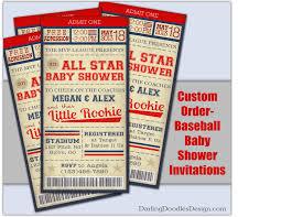 create your own invitations baseball baby shower invites iidaemilia