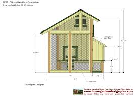 chicken house plans with chicken coop inside a barn 10595
