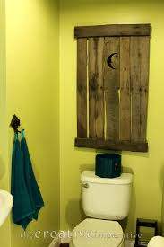 Outhouse Bathroom Accessories by The Creative Imperative A Bathroom Update The Chartreuse Outhouse