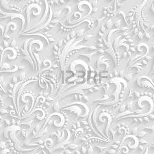 Wedding Paper Floral 3d Seamless Background Royalty Free Cliparts Vectors And