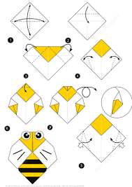 Step By Step Origami For - origami bee how to make an origami bee step step free
