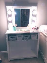 dresser with desk attached desk with a mirror irrr info