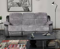 Grey Leather Reclining Sofa by Grey Leather Reclining Sofa 46 With Grey Leather Reclining Sofa