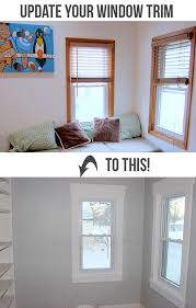 How To Replace A Window Sill Interior How To Install Craftsman Style Window Trim Of Decorating