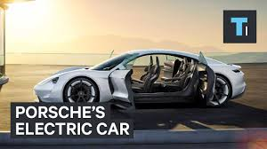 new porsche electric porsche s electric car youtube