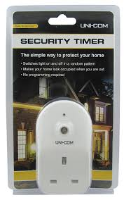 timer lights for home plug in security timer switches light on and off in a random pattern