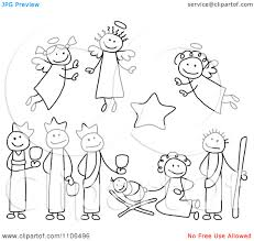 free printable religious christmas clipart images free digital