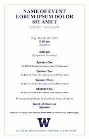 ceremony program template 40 free event program templates designs template archive