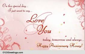 To My Wife On Our Wedding Day Card Anniversary For Her Cards Free Anniversary For Her Wishes 123