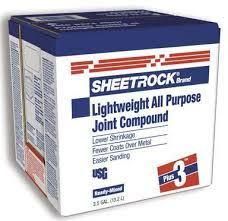 usg sheetrock brand plus 3 joint compound 3 5 gallon box helm
