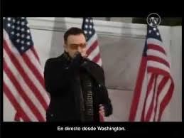 U2 In The City Of Blinding Lights U2 Obama Concert