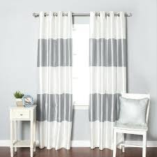 Grey White Striped Curtains Grey And White Striped Curtains Teawing Co