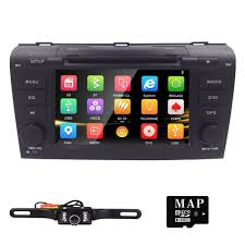 mazda 3 2009 amazon com hizpo 7 inch double din in dash hd touch screen car